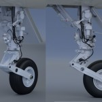 AMX Landing Gear Rendered by poca
