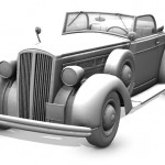 Classic Car by adh3d