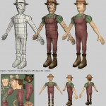 Game model and uvs by muncha